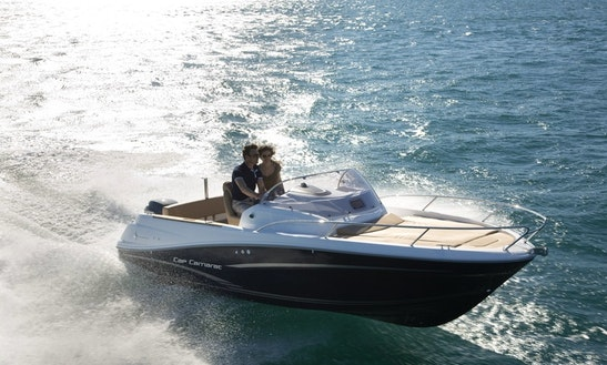 Enjoy Illes Balears, Spain On 18' Jeanneau Powerboat