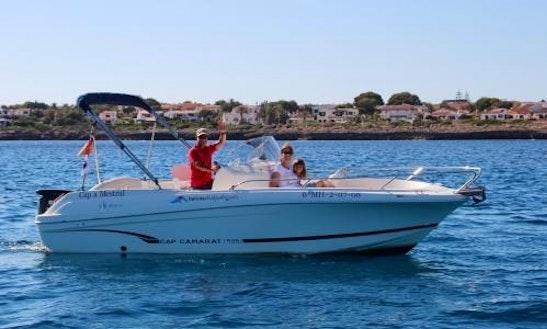 Rent 20' Jeanneau Powerboat In Balearic Islands, Spain
