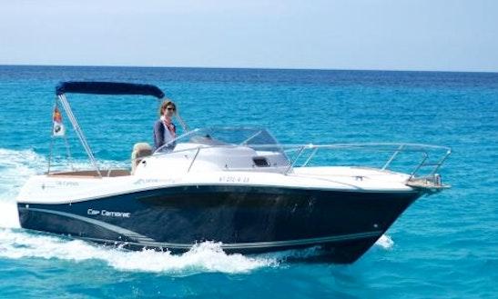 Rent 25' Jeanneau Cap Camarat In Illes Balears, Spain