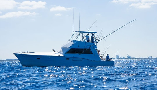 43′ Hatteras Sport Fishing Charters In Fort Lauderdale