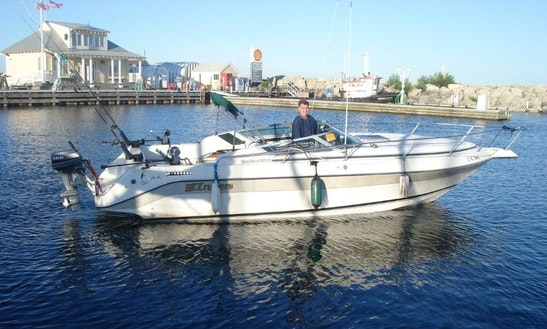 Cruiser Inc. Seadevil Fishing Boat Charter