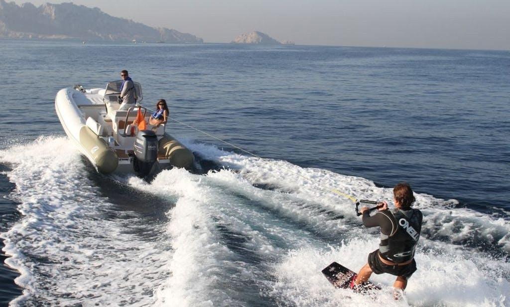 Zodiac N-ZO 600 RIB Rental on Kotor Bay