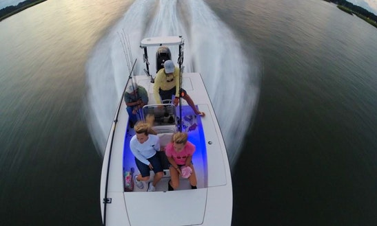 Fishing Charter In Hilton Head Island, South Carolina With Captain Trent