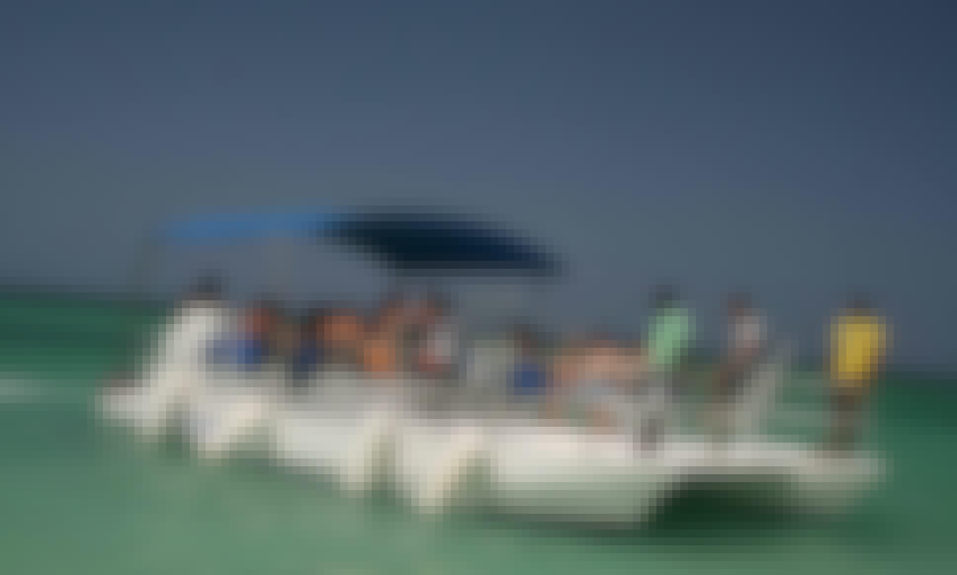 Explore Bavaro - Punta Cana, Dominican Republic with a Pontoon Catamaran Boat