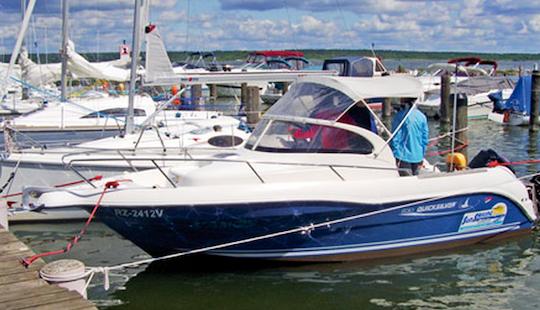 20' Motor Yacht Charter In Klink Germany