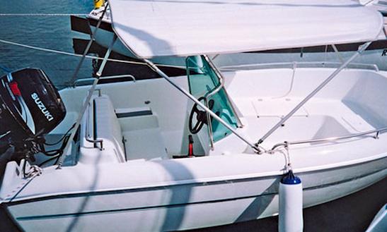 15' Motor Yacht Charter In Klink Germany