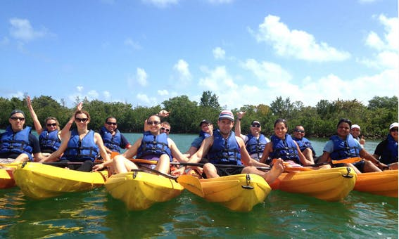 Kayak for Beginners in North Miami Beach
