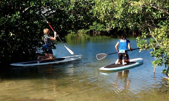 SUP for Beginners Tour in North Miami Beach