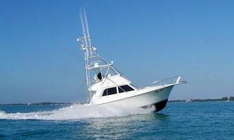 Fishing Charter on 40' Henriques Sportfish Boat in Islamorada, Florida