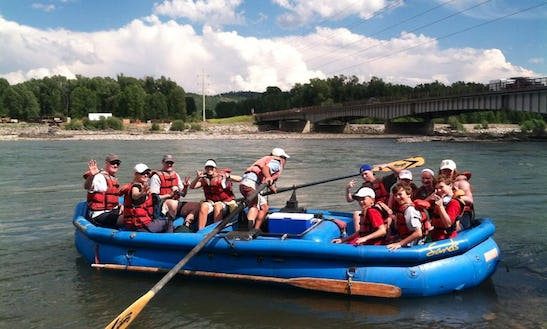 8 Mile Whitewater Trip In Jackson Hole, Wyoming