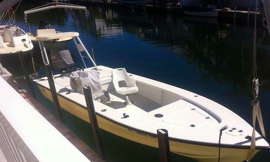 Fishing Charter On 17' Hewes Bonefisher In Islamorada, Florida