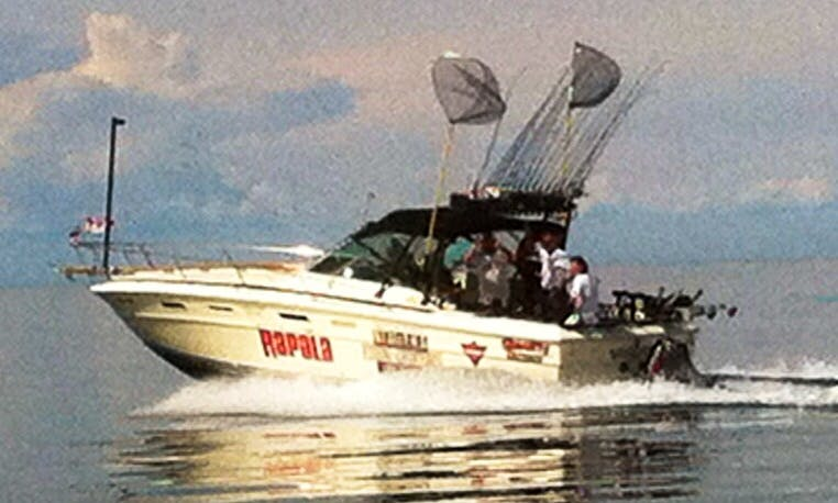 Sea Ray Sport Fisherman charter in Saint Catharines