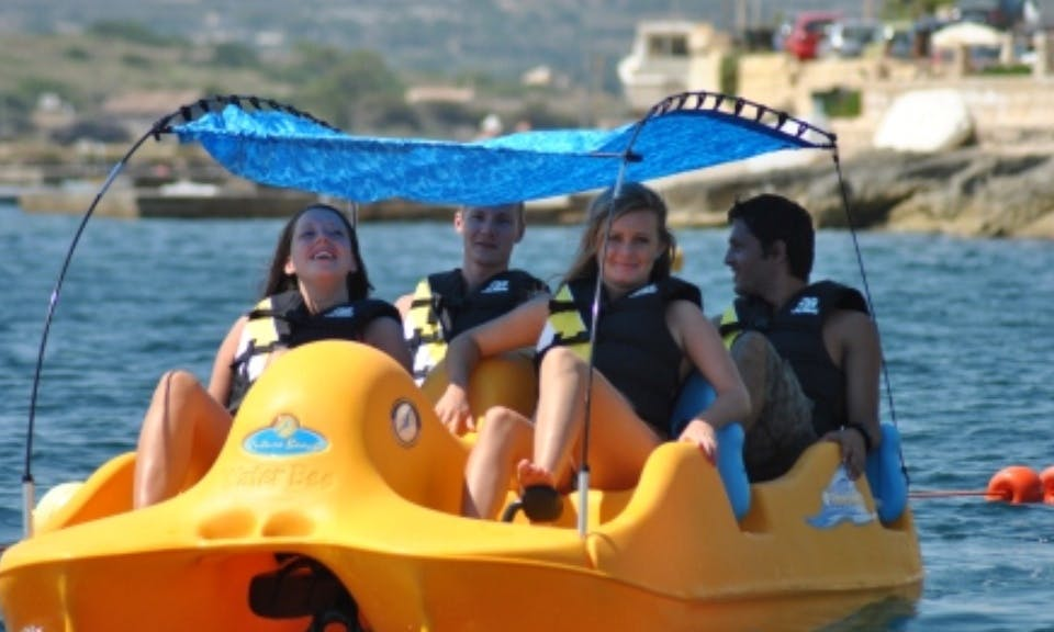 Paddle Boat for rent in San Pawl il-Baħar