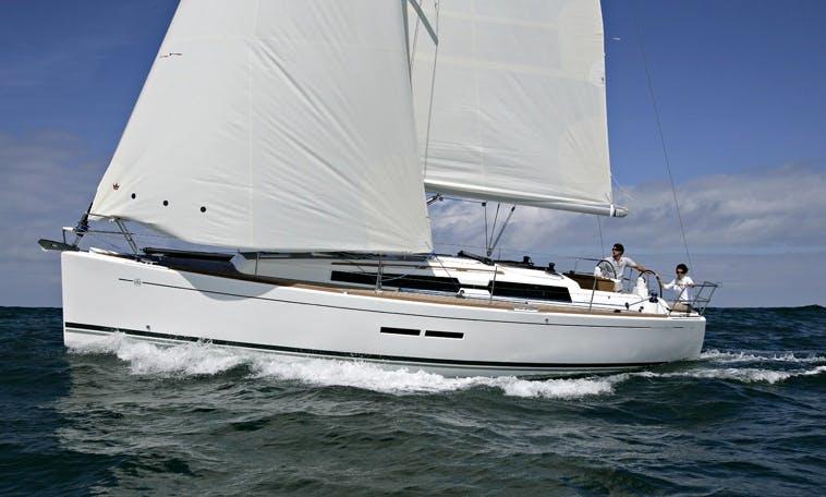 Costa del Sol Dufour 375 Sailing Yacht Hire