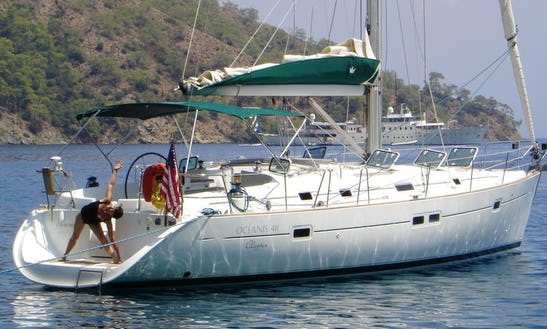 San Roque Oceanis 411 Sailing Yacht Hire