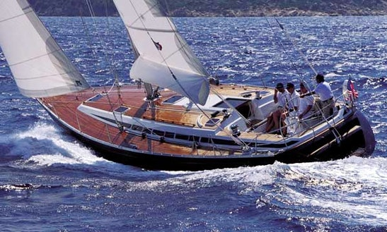 Grand Soleil 46 Sailboar Charter In San Roque