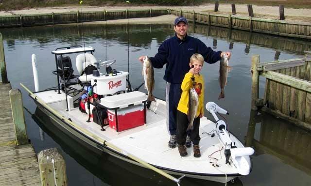 Enjoy Fishing On 17' Ranger Center Console In Kure Beach, North Carolina