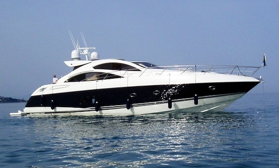 Experience A Sunseeker Motor Yacht  Charter For 8 Person In Dana Point, Ca