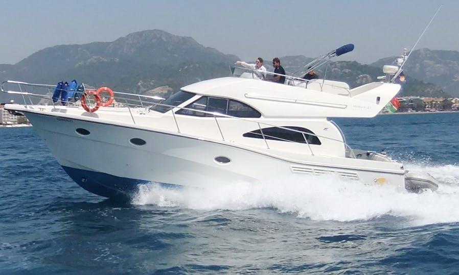 Rodman 41 Motor Yacht Hire in San Roque