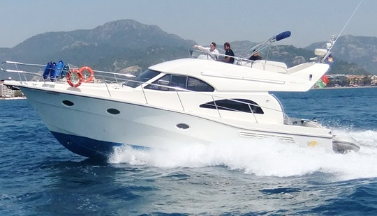 Rodman 41 Motor Yacht Hire In San Roque
