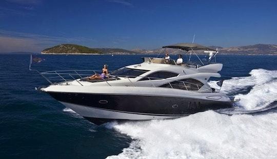 53' Sunseeker Motor Yacht Hire In San Roque