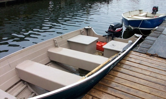 14' Fishing Boat Rental In North Lakeland