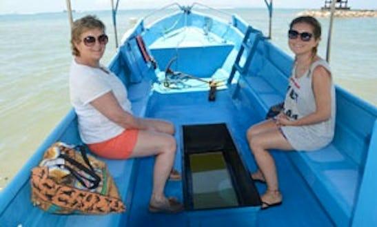Glass Bottom Boat In Bali