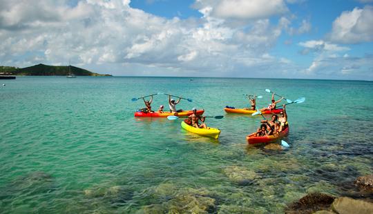 Single Or Tandem Kayak Rental In Simpson Bay, St. Martin