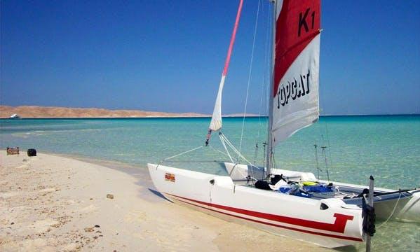 Hire Topcat K1 Sailing Catamaran In Alcúdia