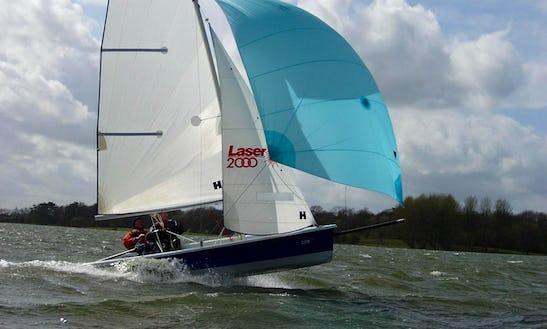 Hire Laser 2000 Sailing Dinghy In Alcúdia