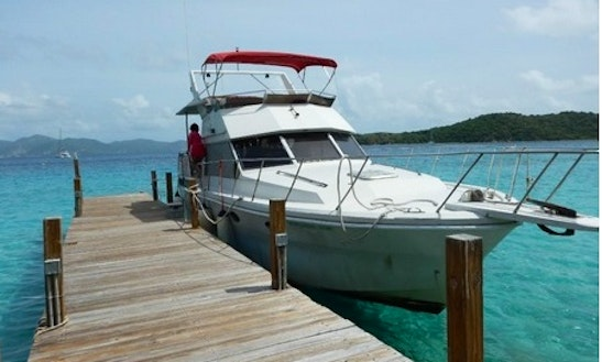 Charter 40' Norther Sun Motor Yacht In Spanish Town