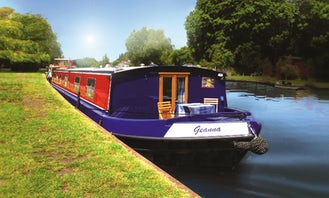 """Charter 62ft """"Geanna"""" Houseboat In Henley-on-Thames, England"""