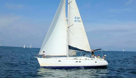 Cruising Monohull Beneteau Oceanis 411 In Spain