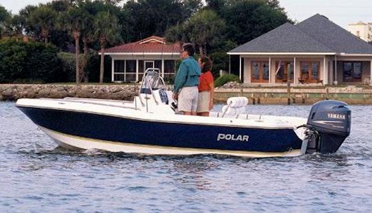 Enjoy Fishing In Naples, Florida On 19' Polar Flat Skiff