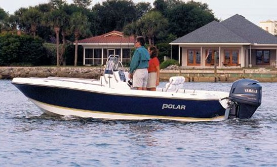Enjoy Fishing In Naples, Florida On 19' Polar Flat Skiff