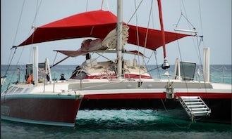 "Charter 45ft ""Stiletto"" Cruising Catamaran In Christchurch, Barbados"