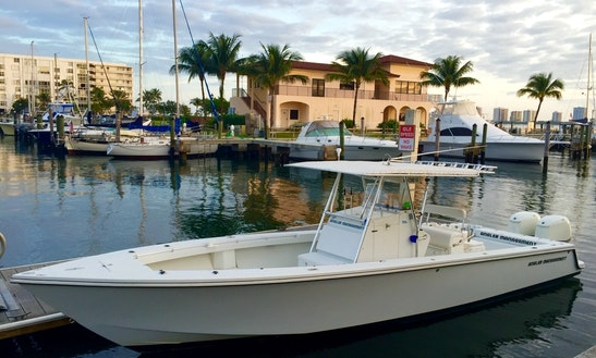 34ft Center Console Boat Fishing Charter In West Palm Beach, Florida