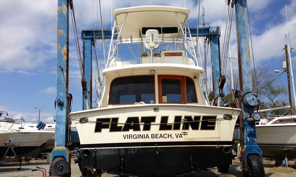 42' Jersey Sportfisher Fising Boat in Virginia Beach, Virginia United States