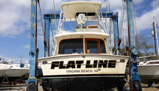 42' Jersey Sportfisher Fising Boat In Virginia Beach, Virginia United States