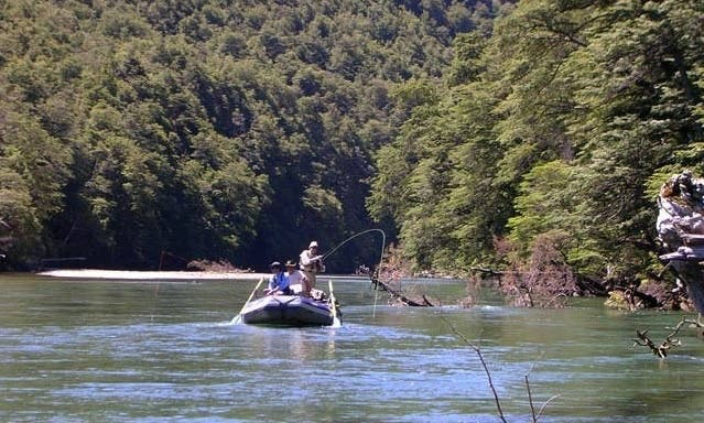 Guided Fishing Trips & Rafting in Bariloche, Argentina