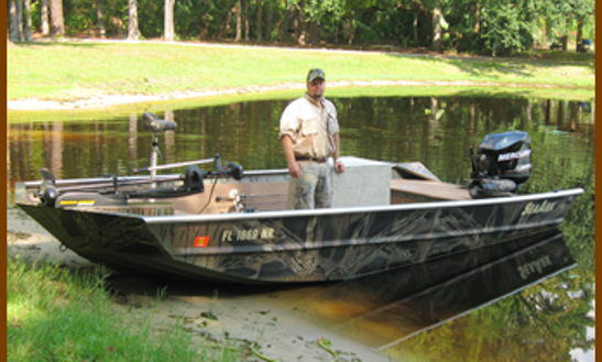 20' Guided Fishing Charter In Citra, Florida