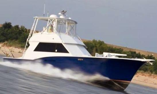 46' Hatteras Sport Fishing Charter In Norfolk, Virginia