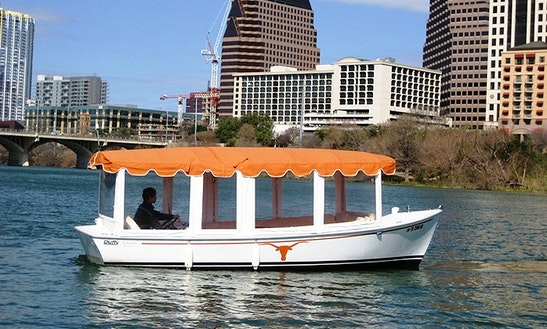 21ft Duffy Electric Boat Rental In Austin