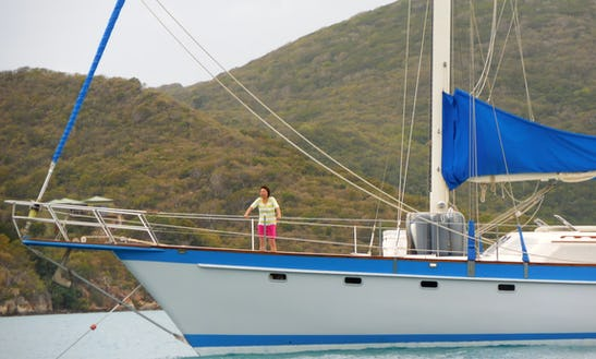 Cruising Monohull Rental In St. Thomas