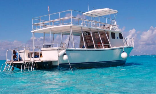 Charter A Passenger Boat For Snorkeling In West Bay, Grand Cayman