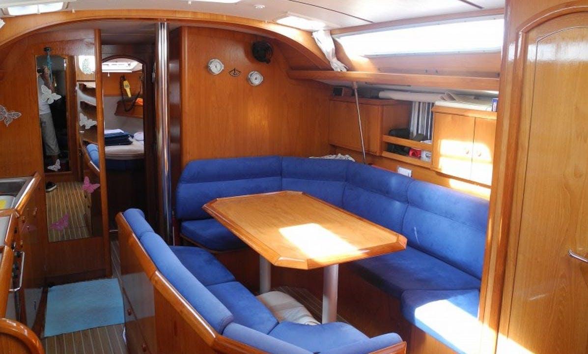 42' Sun Odyssey Sailboat Charter in Toscana, Italy