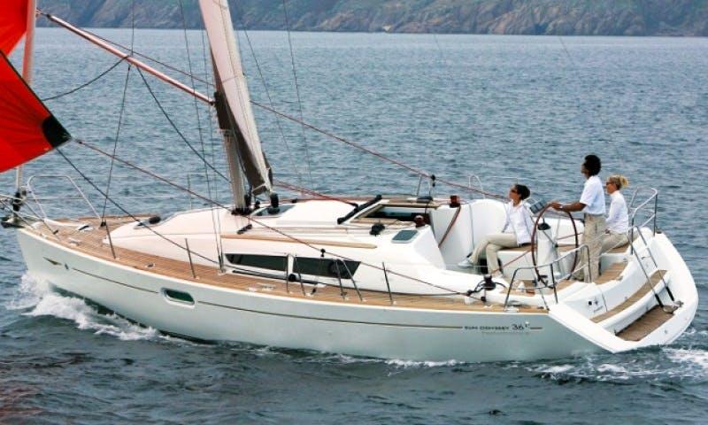 Sun Odyssey 36i Bareboat Sailing Charter in Tuscany