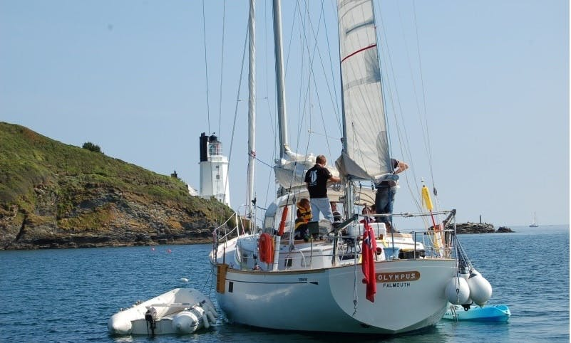 "The ""Olympic Adventure 47"" Sailing Yacht In England"