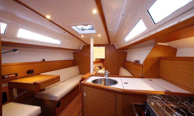 Sail Away on Sun Odyssey 32 Charter in Portoferraio, Italy