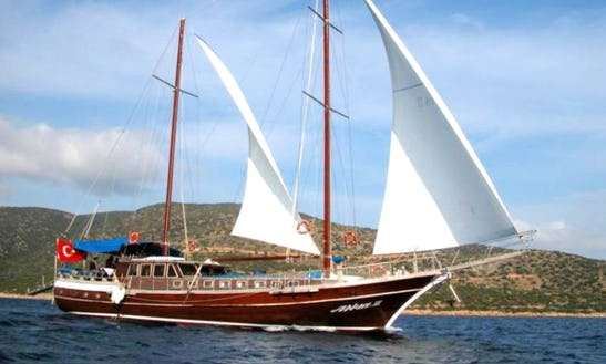 Sail On This Gulet Rental For A Week In Palermo, Sicily